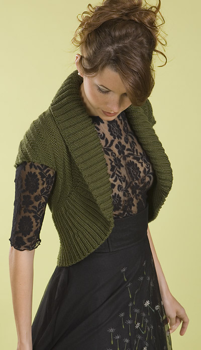 Knitting Pattern For Shawl Collar Vest : A Jersey Hootenanny Wedding: Dress accessories: top & bottom
