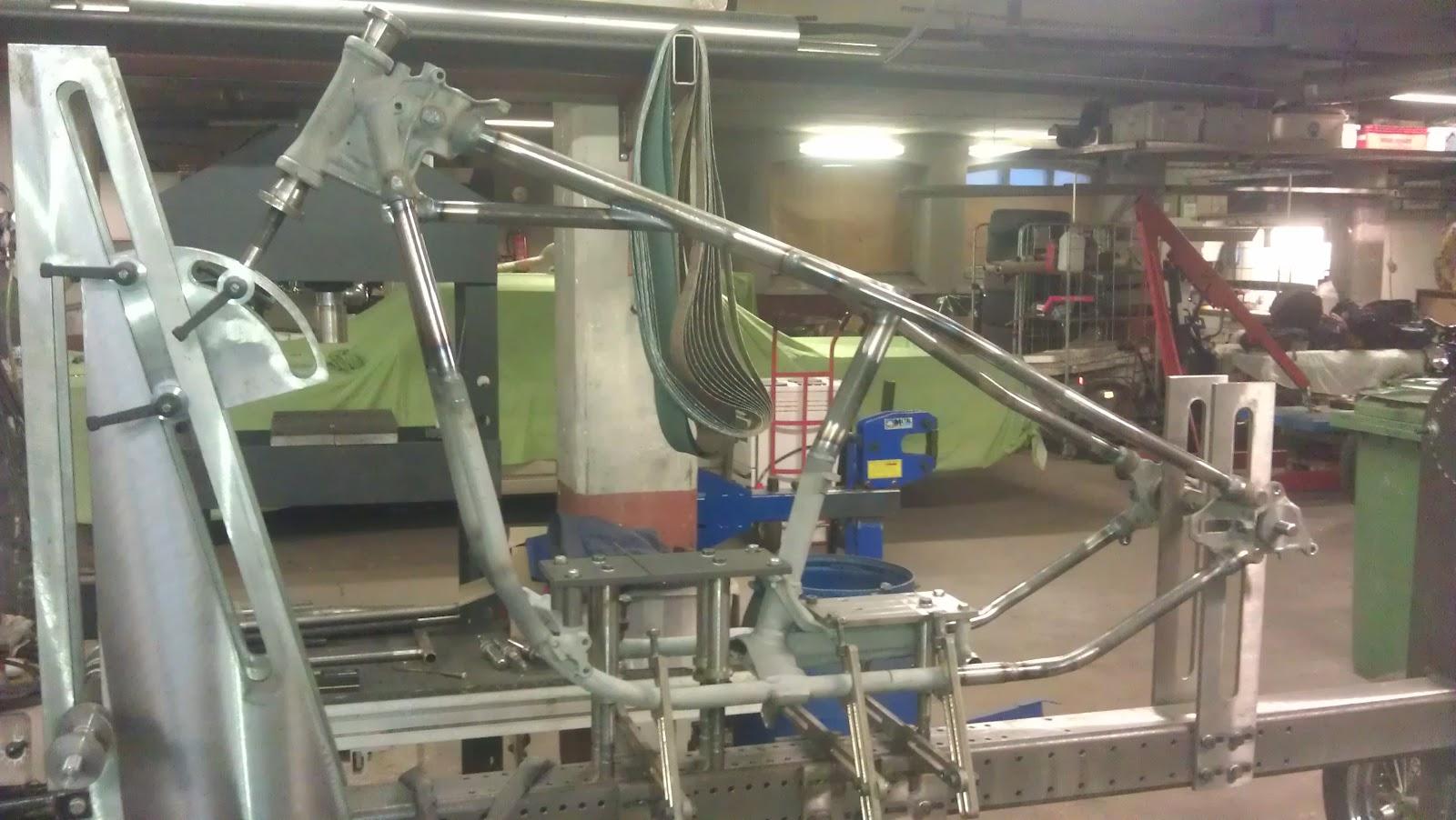 SnowFlake Customs: Shovelhead Frame work