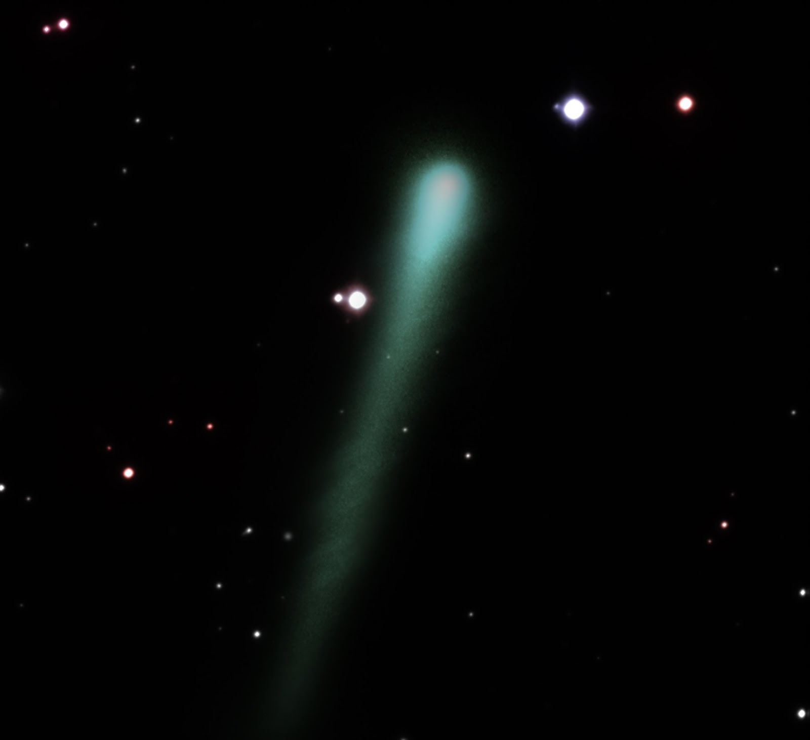 Comet Encke 2013 wallpaper background