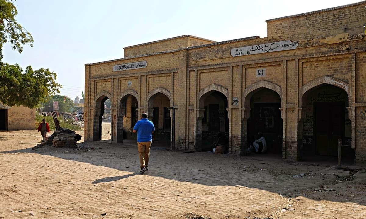A Railway Station Awaits for Train Since 1991