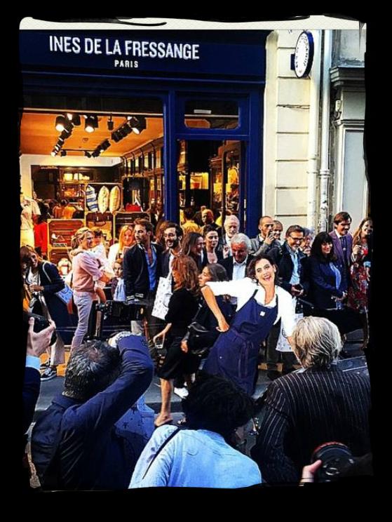 Have some decorum alert the press in s de la fressange opens boutique in paris - Ines de la fressange boutique ...