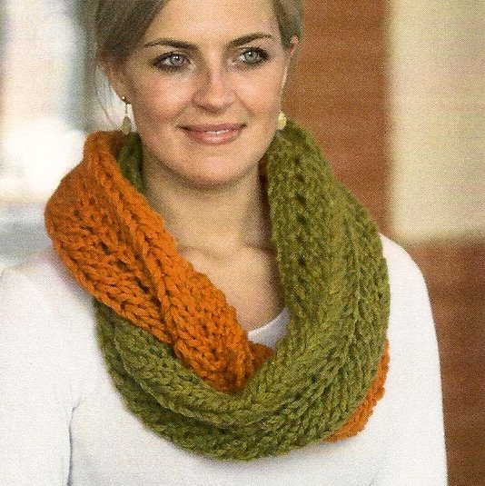 ABC Knitting Patterns - Small Fans Shawl .