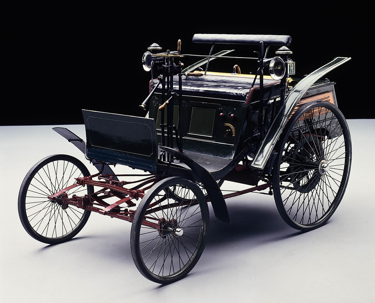 first motorcycle 1885. german engineer gottlieb daimler and inventor wilhelm maybach mounted a gasoline-powered engine onto bicycle, creating motorcycle, in 1885. first motorcycle 1885