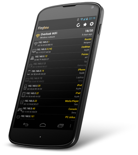 Fing Wifi Network Analyzer Toolkit for Android