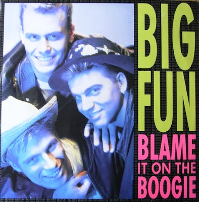 "BIG FUN ""Blame It On The Boogie"" (12'' Maxi) 1989 PWL Hi-Nrg Eurobeat Disco 80's ""Stock Aitken & Waterman"" classic"