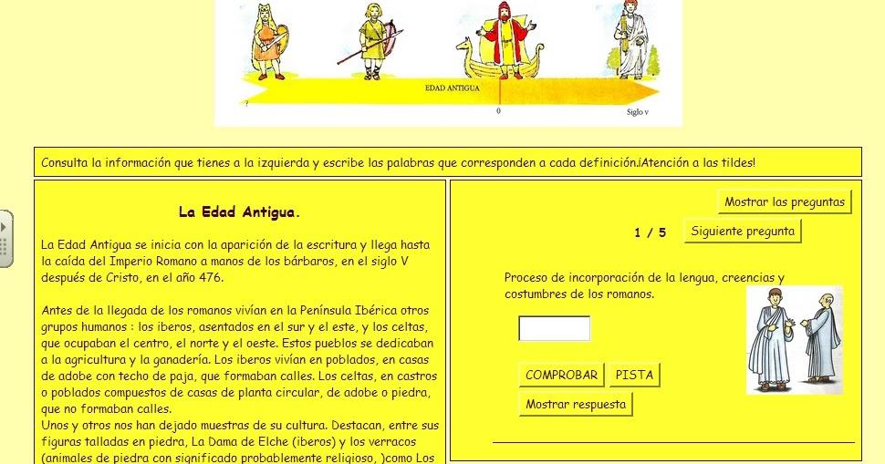 El Blog De 6 186 B Resumen Edad Antigua