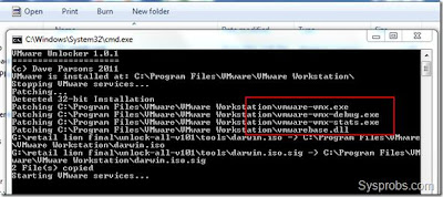 Unlocker for VMWare 8.0.1