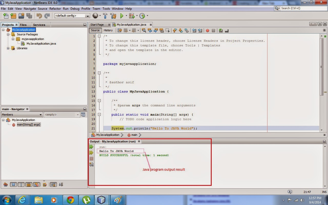 How to create and run Java SE Application Project using Netbeans IDE, Java application development, java project development using netbeans, java tutorial, java learning resources, java education material, javawebaction, netbeans IDE java project, netbeans ide, net beans ide, how to run java se project using netbeans ide, how to develop a java se application project, java application software, java code example, java code tutorial