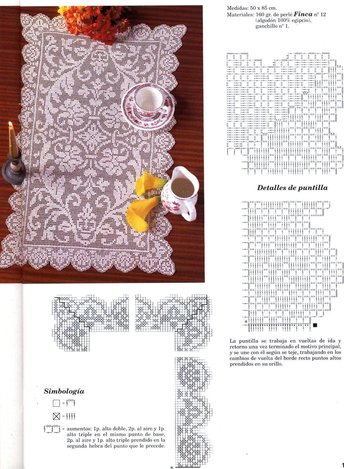 Журналы филейное вязание крючком схемы