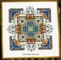 Egypt Garden Mandala