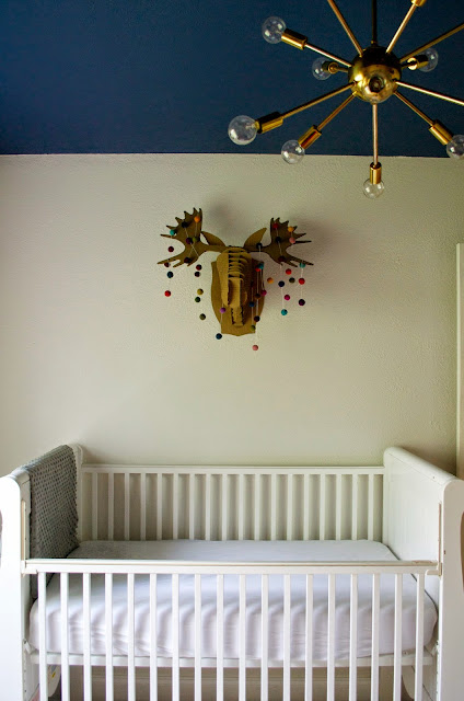 retro woodland nursery