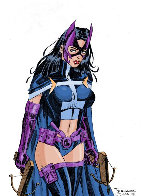 The Comics Girls: Huntress