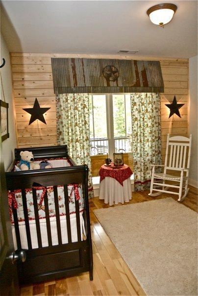 Western nursery ideas : Western cowboy theme baby room ideas
