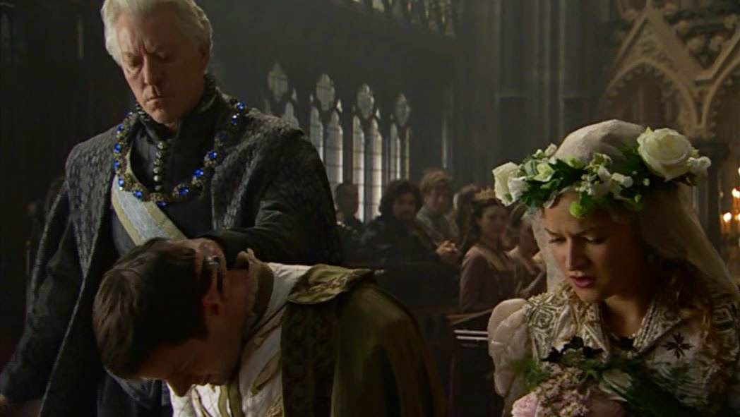 The marriage of Sir George Boleyn and Jane Parker