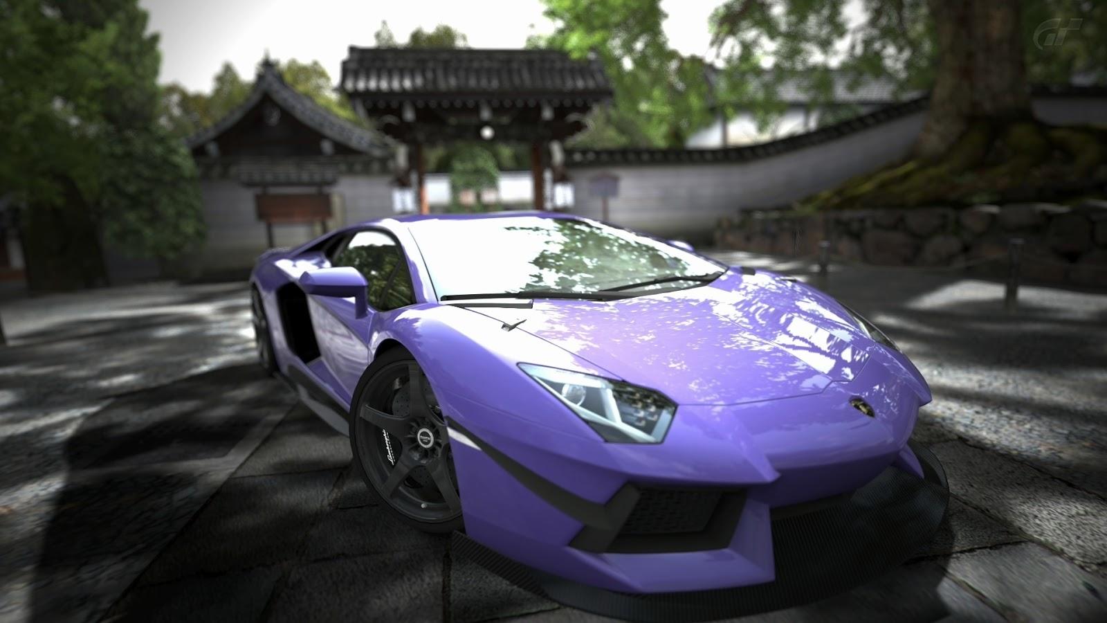 Purple Lamborghini Images HD