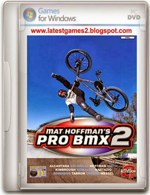Hoffman's Pro Bmx 2 Game PC Free Full Compressed + Crack | Mat Hoffman