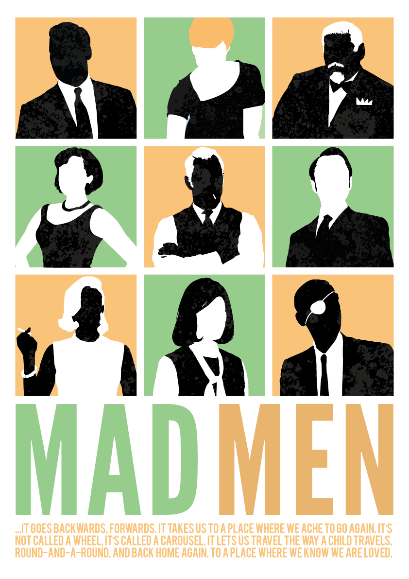 Mad Men Poster Carousel Quote