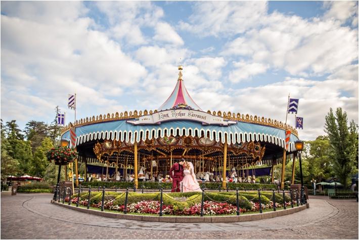 Disneyland Castle Anniversary