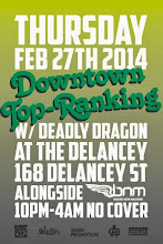 2/27(Thu)Downtown Top Ranking @ Delancey
