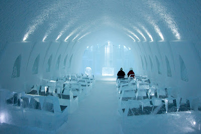 icechapel van het icehotel