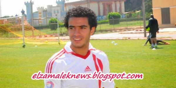 عمر جابر إبراهيم ظهير أيمن الزمالك