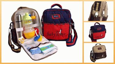 Tas Perlengkapan Bayi - Ide Kado untuk Bayi yang Baru Lahir