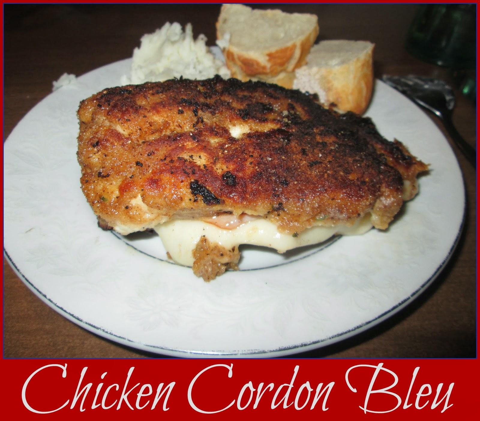 A Taste of Europe - Chicken Cordon Bleu @ kympossibleblog.blogspot.com