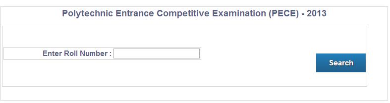 JCECE Result 2014
