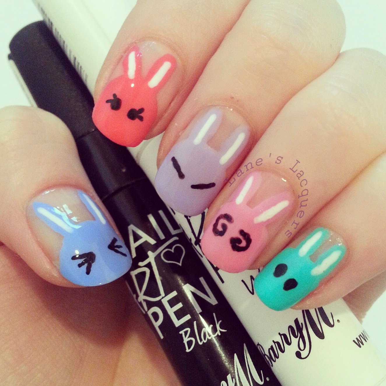 barry-m-cute-bunny-manicure