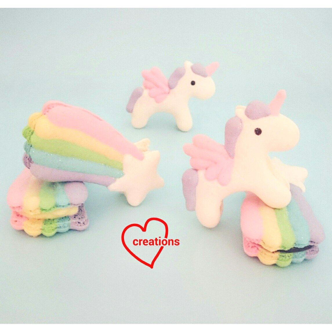 Loving Creations For You Unicorn And Shooting Star