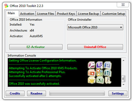 microsoft office 2010 activation toolkit