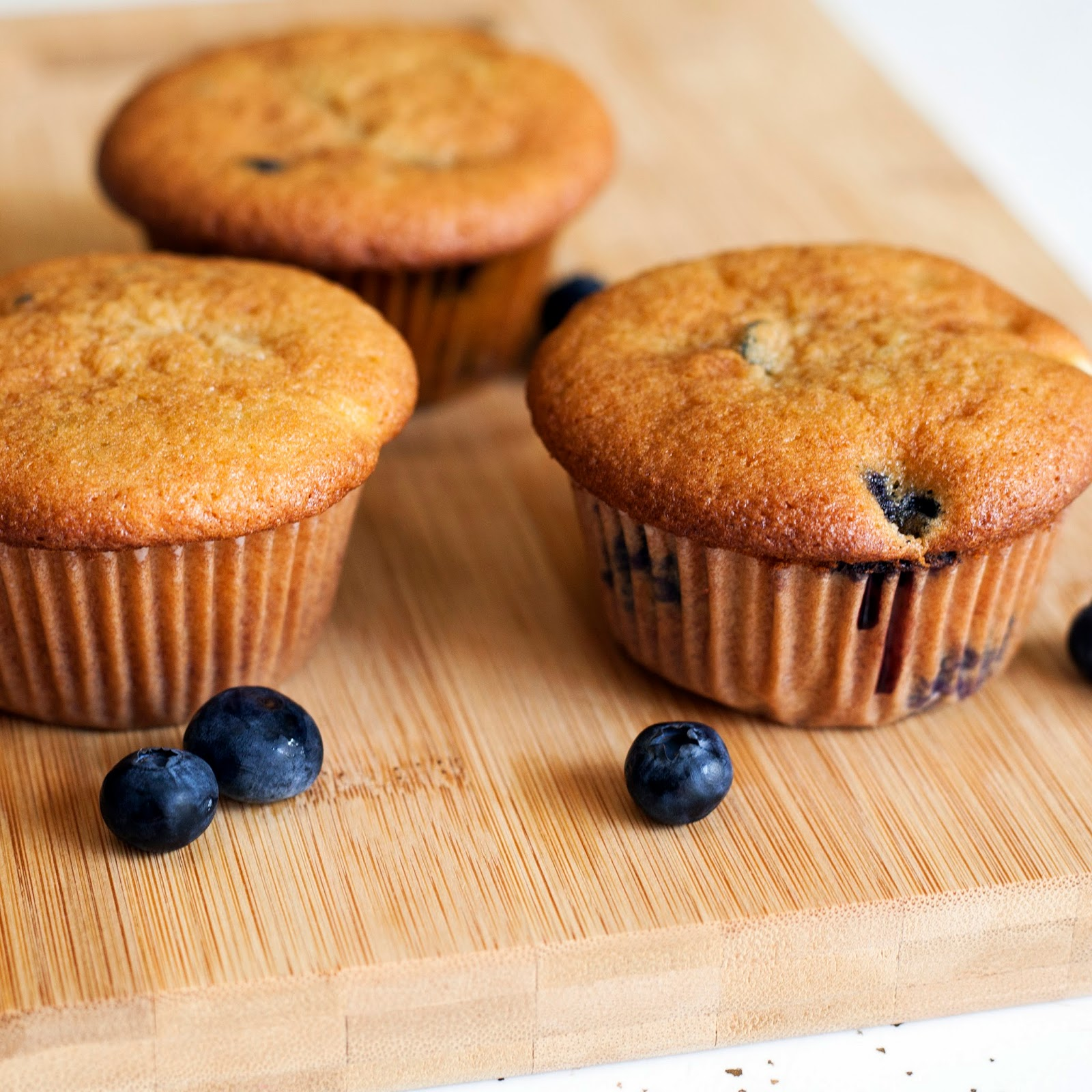 Pure Luck Chevre Blueberry Marmalade Muffins