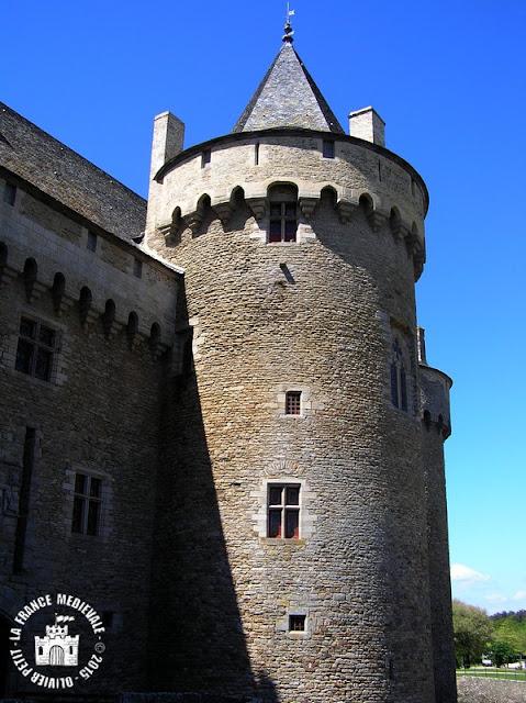 SARZEAU (56) - Château de  Suscinio (Extérieur)