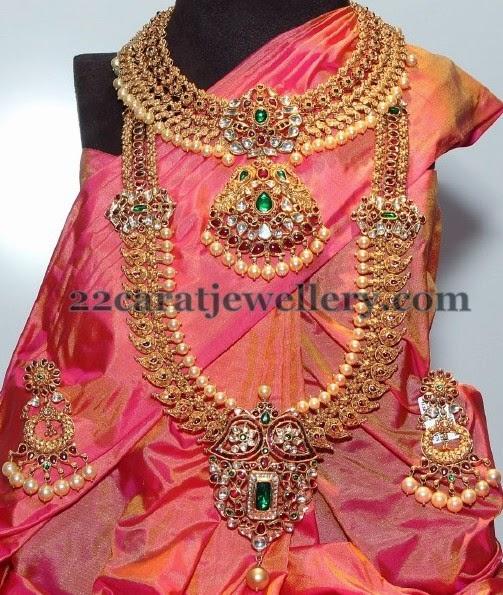 Complete Wedding Jewelry By Vasundhara Jewellery Designs