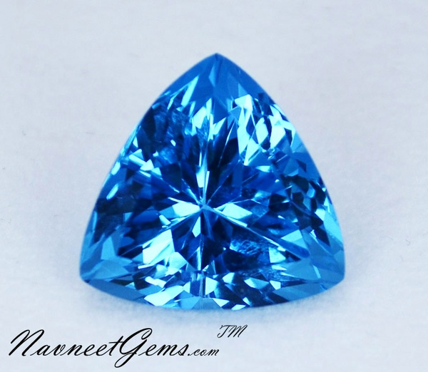 Blue Topaz Stone : Welcome to navneet gems a place for great