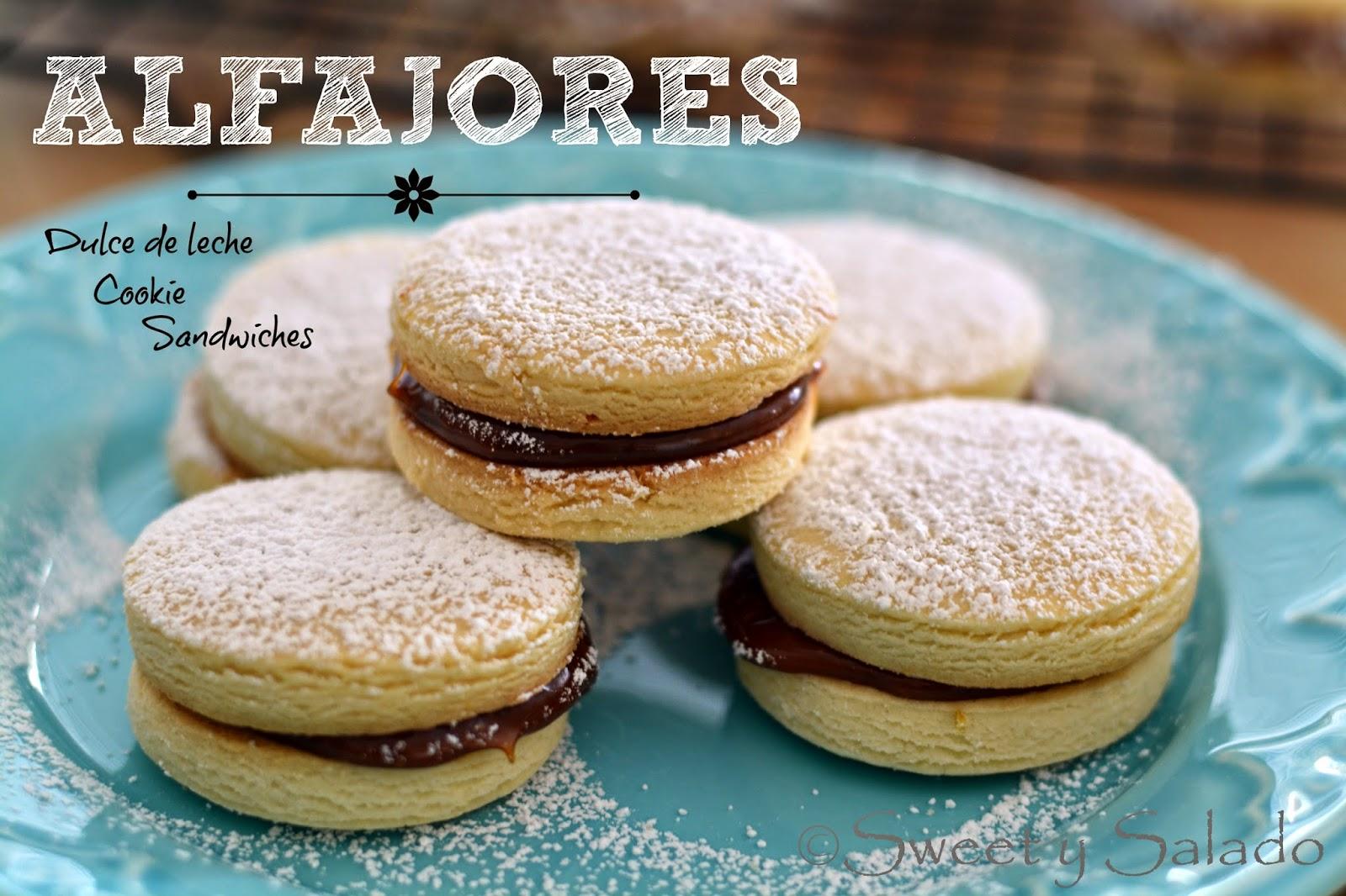 Alfajores With Dulce De Leche Recipe — Dishmaps