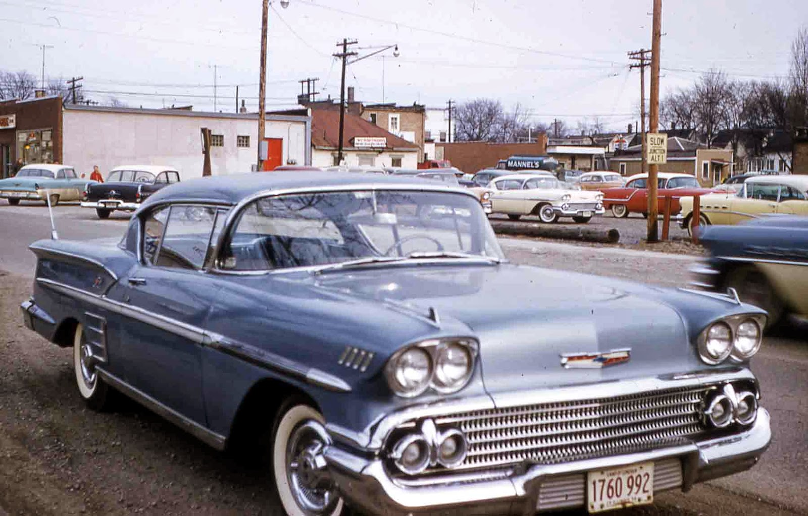 1958 CHEVROLET ACCESSORIES INSTALLATION MANUAL  ALL CARS