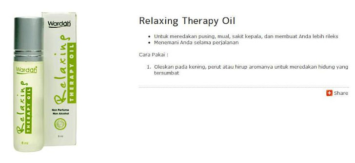 Relaxing Therapy Oil (For Hajj & Umrah)