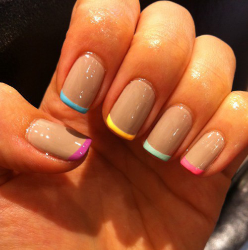 Different Nail Art Designs Images