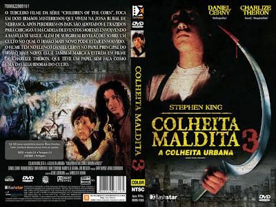 Colheita Maldita 3 DVD Capa
