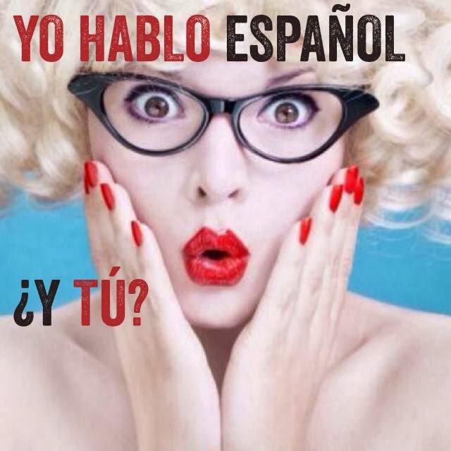 Yo hablo español