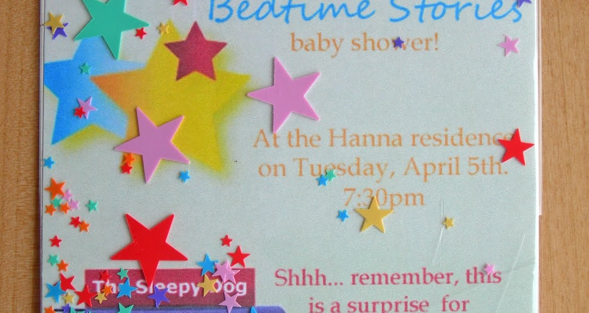 Bedtime Story Baby Shower Games ~ Sweeten your day events bedtime stories baby shower