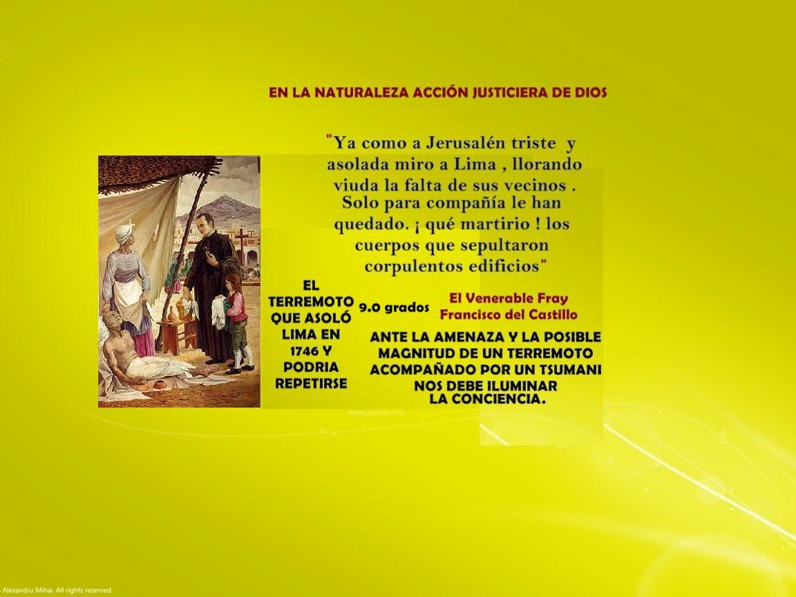 NOTICIAS DE UN OBSERVADOR CATÓLICO: BOLETÍN No 140 : EN LA NATURALEZA  ACCIÓN JUSTICIERA DE DIOS .