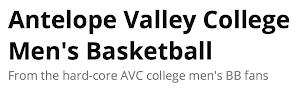 AVC Men's Basketball