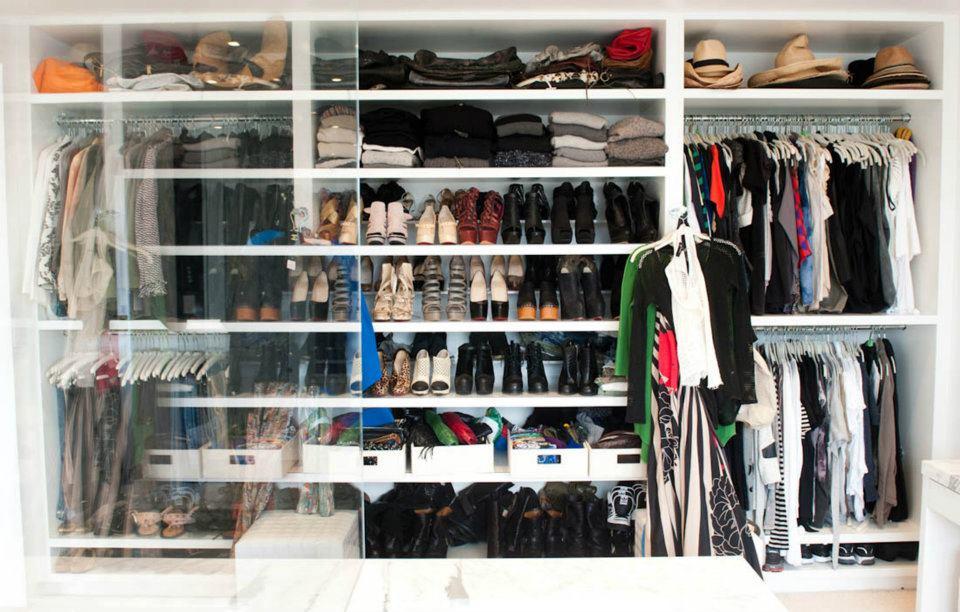 Fashion babes & Lifestyle: Begehbarer Kleiderschrank - Teil 1