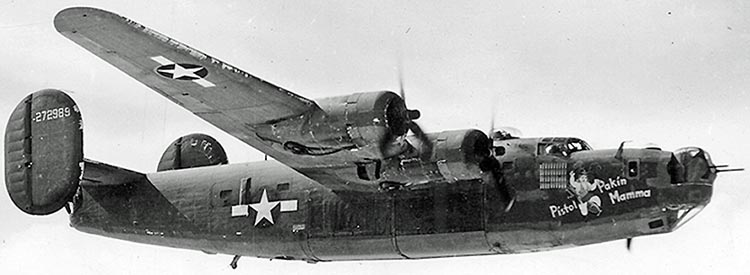 Liberator log - The story of a B-24 and her Crew