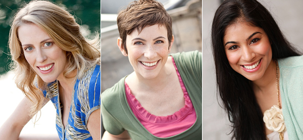 Christa Sibbett - Emily Greco - Geeta Chanana - Cast Images
