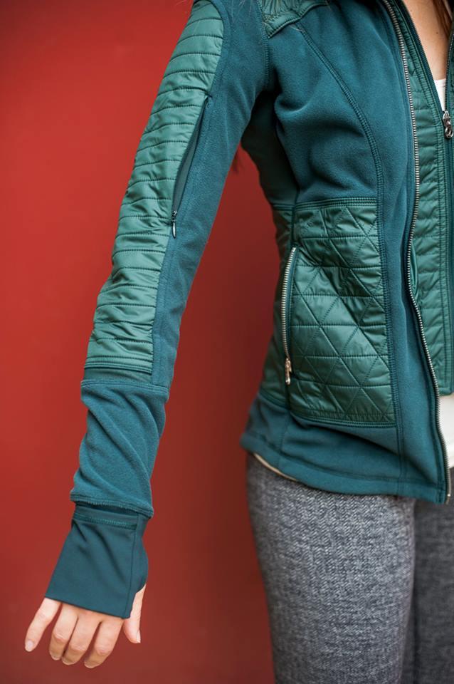 lululemon fuel green fleecy keen jacket
