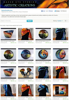 Naked Eye Studios Etsy Shop - Artist John Carollo