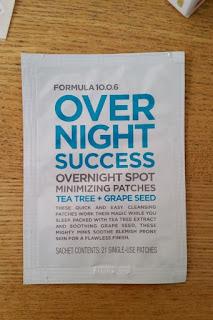 Formula 10.0.6 Overnight Success Overnight Spot Reducing Patches